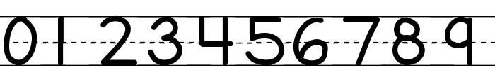 KBFirstGradeLines Font OTHER CHARS
