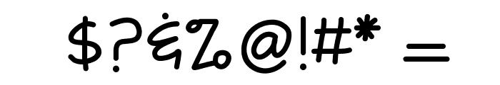 KBFreezerBurn Font OTHER CHARS