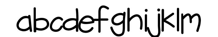 KBFreezerBurn Font LOWERCASE