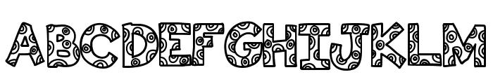 KBFunHouse Font UPPERCASE
