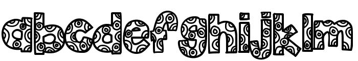 KBFunHouse Font LOWERCASE