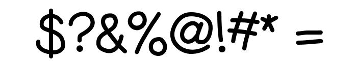 KBGobbleDay Font OTHER CHARS