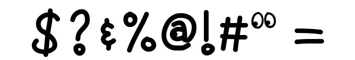 KBGoogleyEyes Font OTHER CHARS
