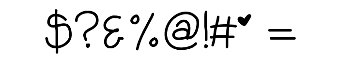 KBHabitsCanBeBroken Font OTHER CHARS