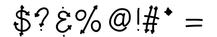 KBHerHighness Font OTHER CHARS
