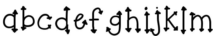 KBHerHighness Font LOWERCASE