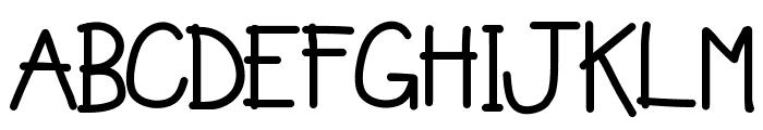 KBHoldthePhone Font UPPERCASE