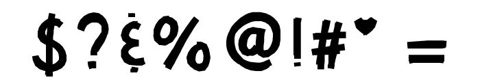 KBHotTAMALE Font OTHER CHARS