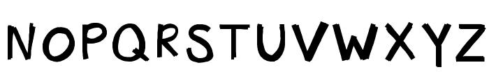 KBHotTAMALE Font UPPERCASE