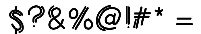 KBJumpingJellybeans Font OTHER CHARS