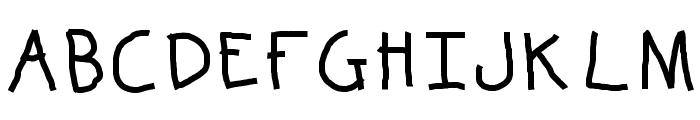 KBKinderWriteBold Font UPPERCASE