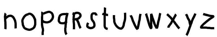 KBKinderWriteBold Font LOWERCASE