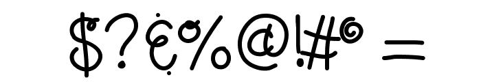 KBLolaLovesMe Font OTHER CHARS