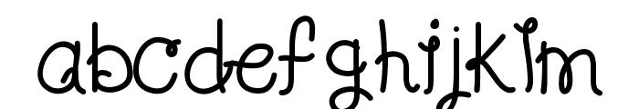 KBLolaLovesMe Font LOWERCASE