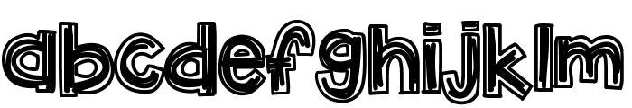 KBLuckyClover Font LOWERCASE