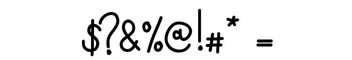KBMisoSoup Font OTHER CHARS