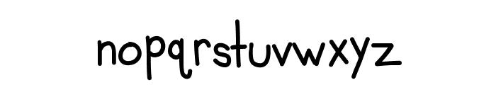 KBMisoSoup Font LOWERCASE