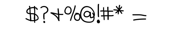 KBMommyDearest Font OTHER CHARS