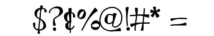 KBMoonLightFalls Font OTHER CHARS