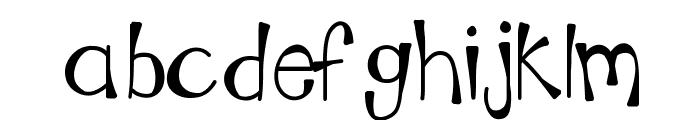 KBMoonLightFalls Font LOWERCASE