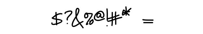 KBNeiledIt Font OTHER CHARS