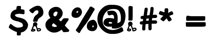 KBNowWalkItOut Font OTHER CHARS