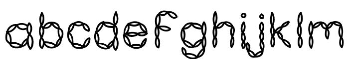 KBPastaForTwo Font LOWERCASE