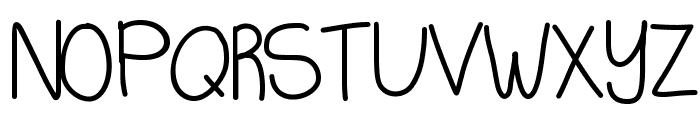KBQuietStories Font UPPERCASE