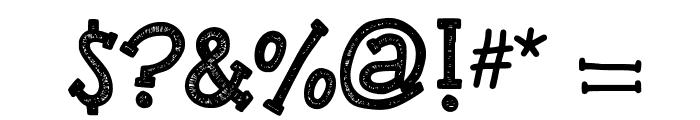 KBREINDEERGAMES Font OTHER CHARS