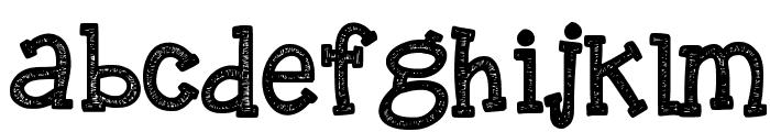 KBREINDEERGAMES Font LOWERCASE
