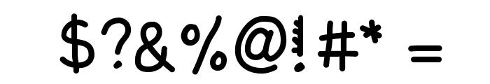 KBRacecars Font OTHER CHARS