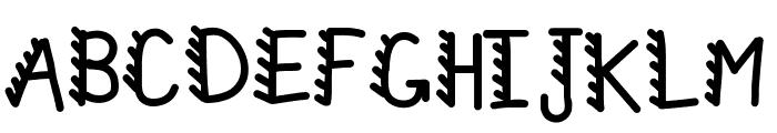 KBRacecars Font UPPERCASE