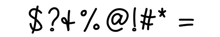 KBSandyShorts Font OTHER CHARS