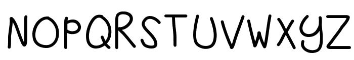 KBSandyShorts Font UPPERCASE