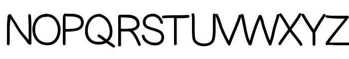 KBScaredStraight Font UPPERCASE
