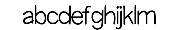 KBScaredStraight Font LOWERCASE