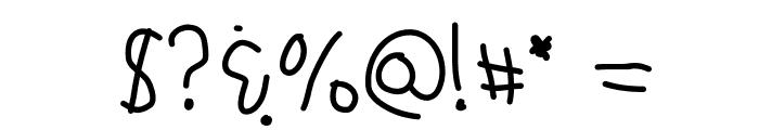 KBSchoolyardPranks Font OTHER CHARS