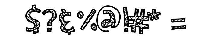 KBSecretPassage Font OTHER CHARS