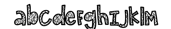 KBSecretPassage Font LOWERCASE