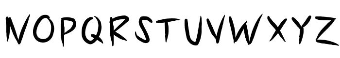 KBSlasher Font UPPERCASE
