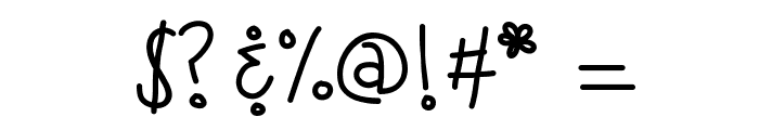 KBSneakyWalrus Font OTHER CHARS