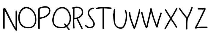 KBSneakyWalrus Font UPPERCASE