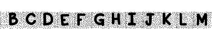 KBSnowballin Font UPPERCASE