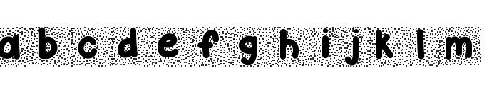 KBSnowballin Font LOWERCASE