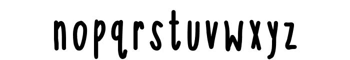 KBSoThinterestingBold Font LOWERCASE