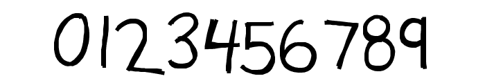 KBSourdoughBread Font OTHER CHARS