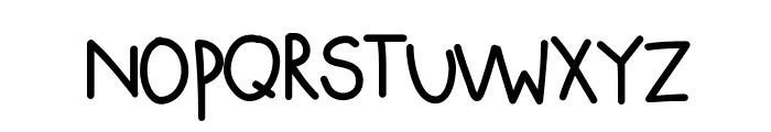 KBSquishyBlanket Font LOWERCASE