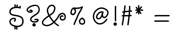 KBStarlight Font OTHER CHARS