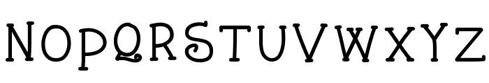 KBStarlight Font LOWERCASE