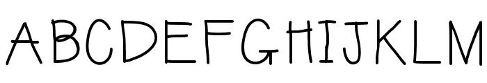 KBSunshineBold Font UPPERCASE